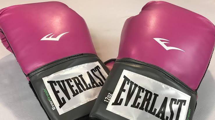 Everlast Pink Women's Pro Style Training Gloves