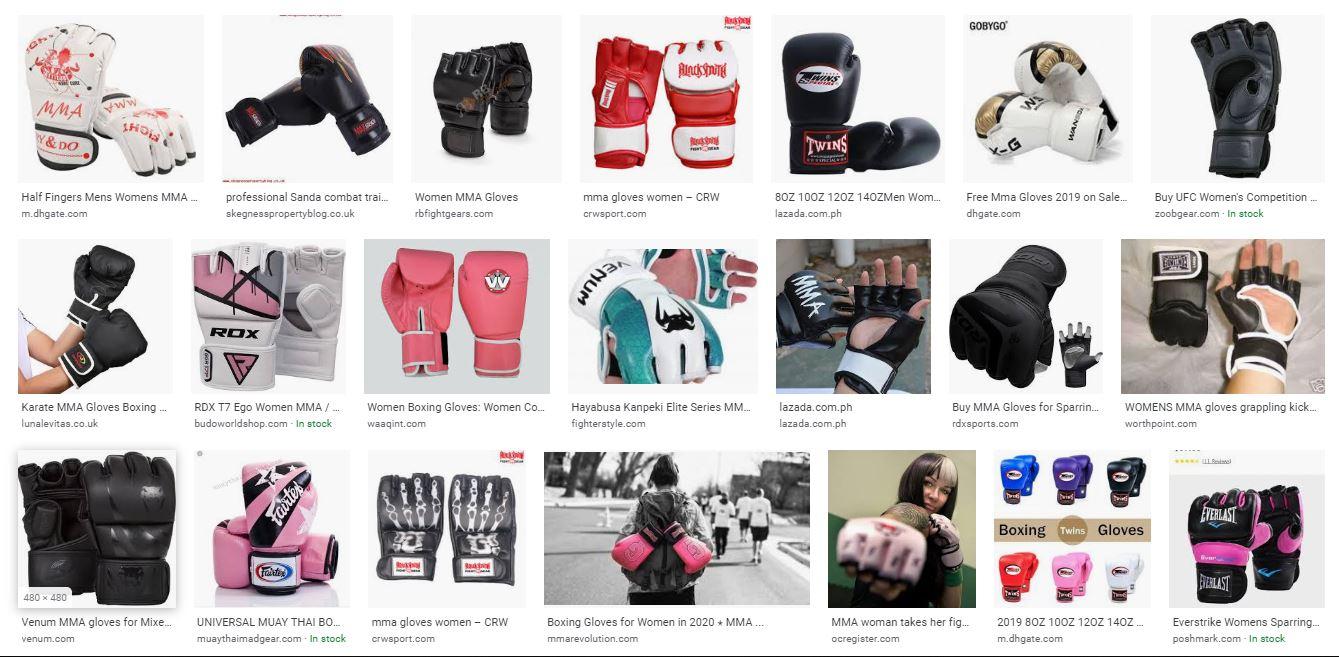 best mma gloves for women samples
