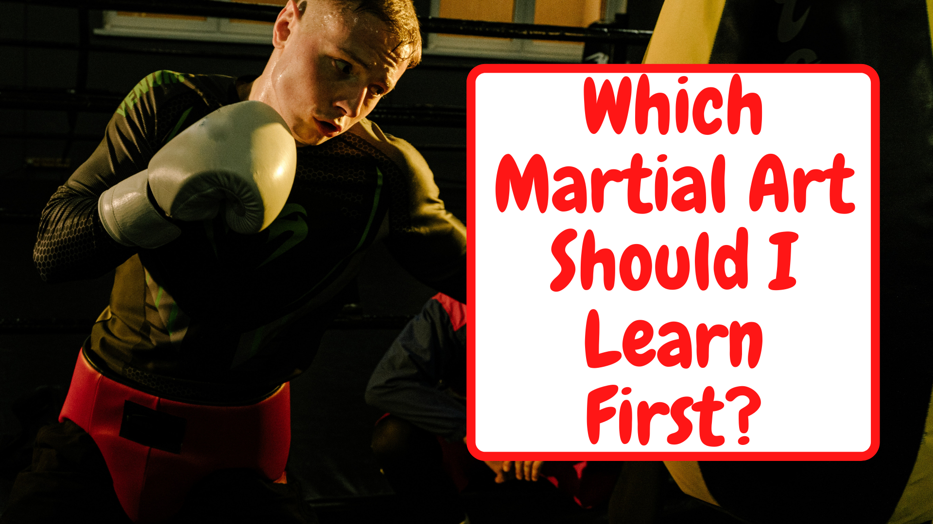 Which Martial Art Should I Learn First